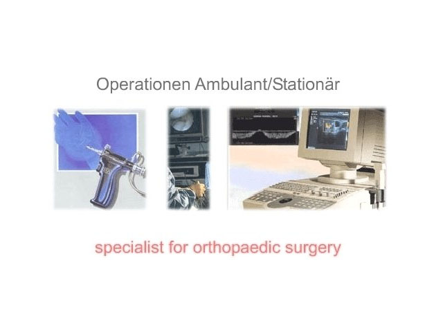 Operation Ambulant / Stationär